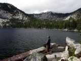 Fisherman at Big Duck Lake