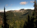 Russian creek and distant PCT