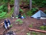 Camp on Baekos Creek