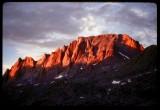 Mt Fremont sunset glow