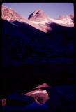 Titcomb Basin Lake reflections