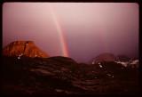 Titcomb Basin rainbow