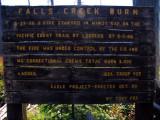 Falls Creek Fire