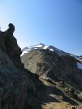 Old Snowy peak