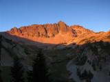 Cispus Basin sunset