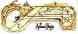 The Actual Layout of theAddams Family Train Set