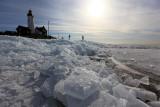 20 february 2012 - Kruiend ijs - Stavoren & Urk