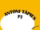 ANTONI TÀPIES-P3
