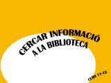 CERCAR INFORMACIÓ BIBLIOTECA