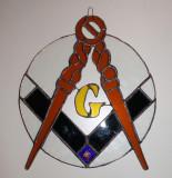 Masonic Stained Glass