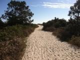 Walk to Burkes Beach on HH