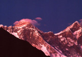 Alpen Glow on Mount Everest
