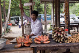 Vendors at Phnom Kulen Mountain
