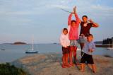 Island Sun Sets