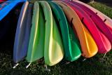 Kayaks - Watercolors
