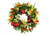 Tropical Wreath
