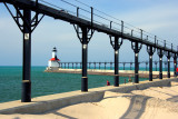 East Pier Lighthouse - Michigan City