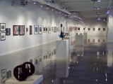 Transportation show in main gallery