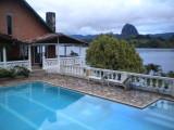 074 Finca en alquiler, Expectacular peninsula con Represa, Piscina, Fuente,turco - El Penol, Antioquia