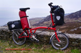 371    Stuart Touring Ireland - Brompton ML6 touring bike