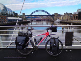374    Steve Touring Scotland - Trek 6300 touring bike