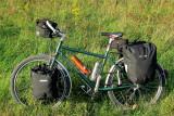 253  Bina - Touring Germany - Roberts Roughstuff touring bike