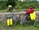 254  Roberto - Touring Wales - Dawes Ultra Galaxy touring bike