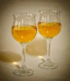 A glass half full or A glass half empty