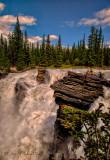 Athabasca Falls Jasper National Park.