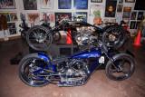 Two Racer Custom Harley's