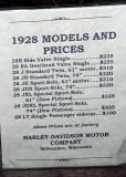 1928 Price List