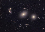Messier 84&86&The Eyes