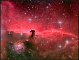 Horsehead nebula - reprocessed