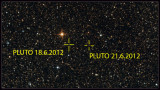 PLUTO movement during 3 nights