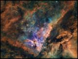 Eta Carina - Keyhole nebula