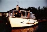 Lorraine Aboard Miss Merrymaid (Y29) in 1973