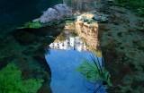 Water reflection, Ronda