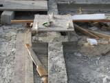 Pier Tie-ins Concreted