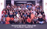 Our 20th Roosevelt High School Class Reunion