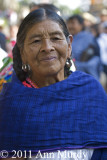 Lady with blue rebozo