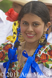 Dancer in beaded blouse