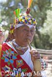 Jose Garcia playing flute