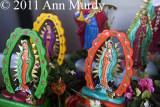 Guadalupe figures by Rosina Lopez de Short