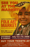 Poster for the 2008 Santa Fe Int'l Folk Art Market