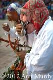Los Viejos drinking mezcal