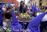 Preparing Anda for Procession