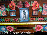 Chest with Our Lady of Guadalupe