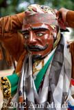 Adjusting Mask - Dancer from Santiago Juxtlahuaca