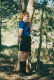 schoolgirl ginger redhead