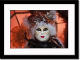 Mask with Backlit Umbrella